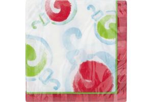 Smart Living Lunch Napkins Watercolor - 16 CT