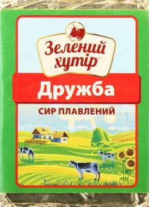 Сир плавлений 50% Дружба Зелений Хутір м/у 90г