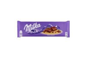 Шоколад молочный Whole Almond Milka м/у 185г