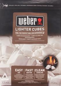 Кубики для розжига Weber 17670