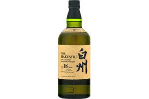 Hakushu 18 Year Single Malt Japanese Whisky