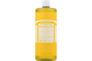 Dr. Bronner's 18-In-1 Hemp Citrus Pure-Castile Soap
