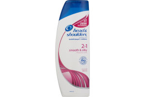 Head & Shoulders 2 in 1 Dandruff Shampoo + Conditioner Smooth & Silky