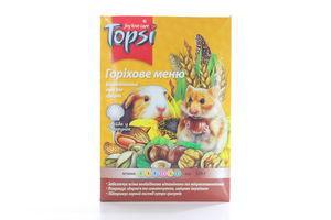 Корм для грызунов Ореховое меню Topsi 510г