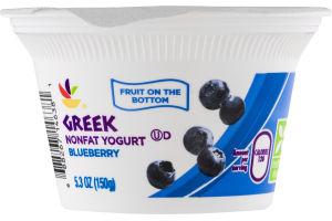 Ahold Greek Nonfat Yogurt Blueberry