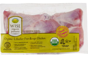 Wise Organic & Kosher Free-Range Chicken Drumsticks