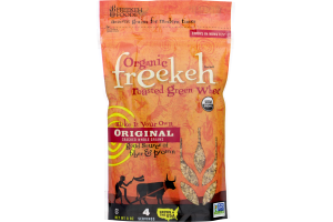 Freekeh Organic Roasted Green Wheat Original