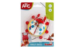 Брязкальце для дітей від 6 місяців Сонечко ABC Simba 1шт