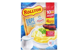 Пюре картопляне зі смаком вершків Роллтон м/у 40г