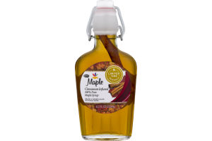 Ahold Cinnamon Infused 100% Pure Maple Syrup Maple