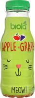Нектар Яблуко-виноград Biola п/пл 0.25л