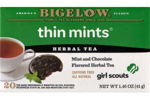 Bigelow Herbal Tea Thin Mints - 20 CT