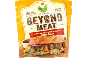 Beyond Meat Beyond Chicken Strips Grilled