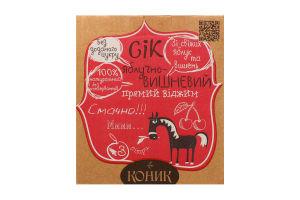 Сок Лавка традицій яблочно-вишневый Коник