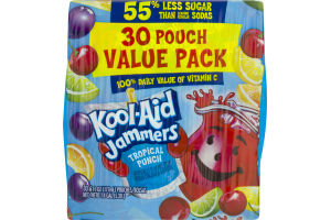 Kool-Aid Jammers Tropical Punch - 30 PK