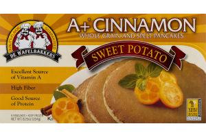 De Wafelbakkers A+ Cinnamon Whole Grain Pancakes Sweet Potato - 6 CT