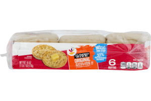 Ahold English Muffins Jumbo - 6 CT