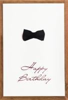 Листівка вітальна з конвертом 10х15см Happy Birthday S.Brothers&Co 1шт в асорт