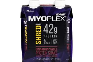 EAS Myoplex Protein Shake Cinnamon Swole - 4 CT