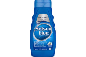 Selsun Blue Drandruff Shampoo Formulated with Caffeine