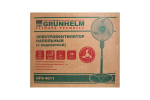 Электровентилятор напольный с подсветкой GFS-4011 Grunhelm 1шт