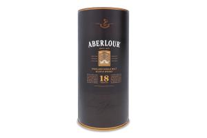 Віскі 0.5л 43% шотландський односолодовий 18YO Aberlour пл