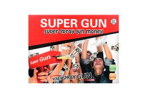 Набор Пистолет-деньгомет праздн+50 купюр Y1