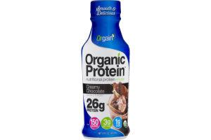 Orgain Organic Protein Nutritional Protein Shake Creamy Chocolate