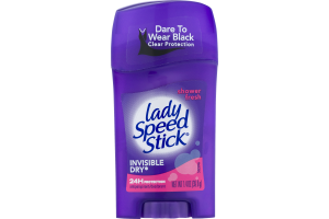 Lady Speed Stick Invisible Dry Antiperspirant/Deodorant Shower Fresh