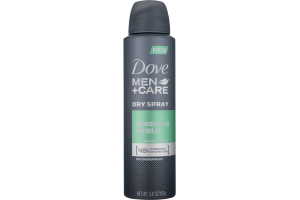 Dove Men + Care Antiperspirant Dry Spray Sensitive Shield