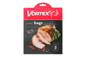 Пакети для запікання і заморожування харчових продуктів 30х40см Vortex 5шт