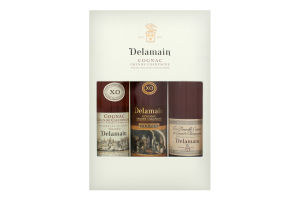 Коньяк Delamain Pale&Dry + Vesper + Tres Venerable