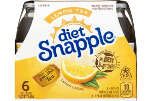 Diet Snapple Lemon Tea - 6 CT
