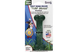 """StoneBone Medium Dog Bone """"Turf Grass"""""""