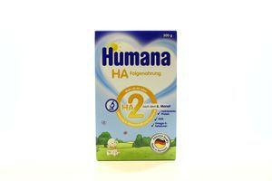 Суміш Humana HA 2 гіпоалерг. з пребіотиками 500г х8