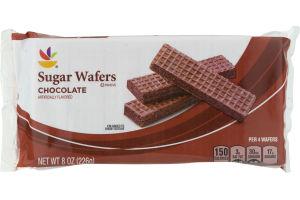 Ahold Sugar Wafers Chocolate