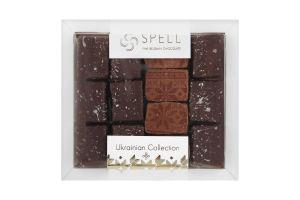 Асорті шоколадних цукерок з маком, журавлиною та горіхом ТМ Спелл ,170 г.