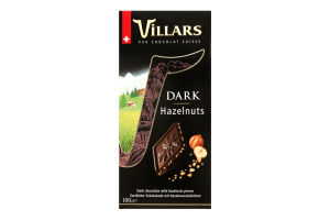 Шоколад черный Villars с лесными орехами