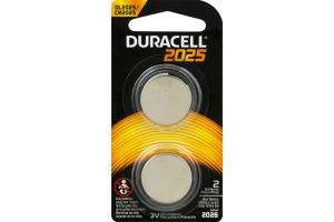 Duracell Batteries 2025 - 2 CT