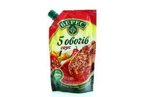 Соус Верес 5 овощей д/п с закр 215г