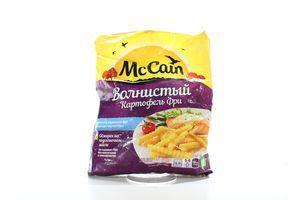 Картопля McCain Золотиста хвиляста 750г х12