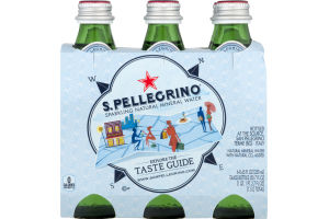 S. Pellegrino Sparkling Natural mIneral Water - 6 CT