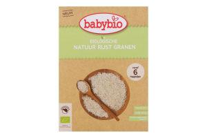 Каша для детей от 6мес органическая рисовая BabyBio к/у 200г