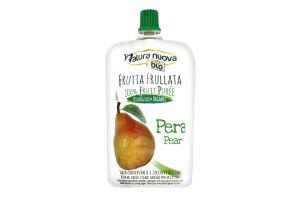 Пюре фрукт Natura nuova из груши б/сах органичное