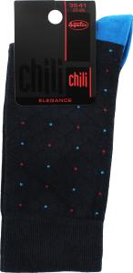 """Шкарпетки чоловічі CHILI ELEGANCE 163 U1C р.25-26, 1 шт (ТМ """"CHILI"""")"""