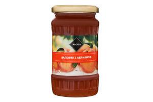 Варенье из абрикосов стерилизованное Rioba с/б 465г