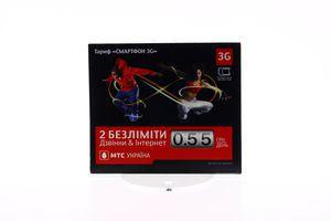 Пакет стартовый Смартфон 3G МТС 1шт