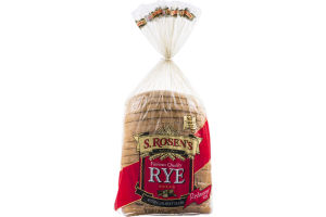S. Rosen's Bread Rye with Caraway Seeds