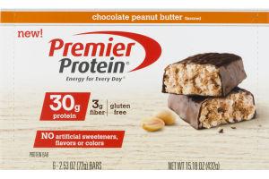 Premier Protein Bar Chocolate Peanut Butter - 6 CT