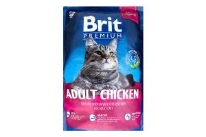 Корм Brit для котів сухий з куркою 1,5кг х6